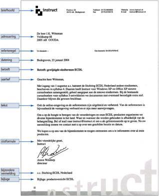 zakelijke brief nederlands voorbeeld mbo Zakelijke Brief Nederlands Voorbeeld   hetmakershuis